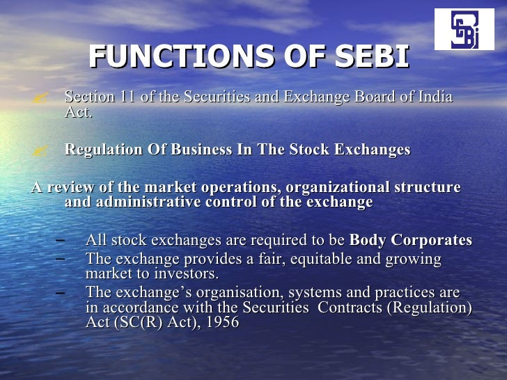 summary of sebi act Ca final corporate and allied laws notes for may 2017 exams including notes on sebi, fema, money laundering act etc have been provided in pdf format ca final law notes pdf download (corporate & allied law) ca final law notes pdf download companies amendments act 2015 summary in one page.