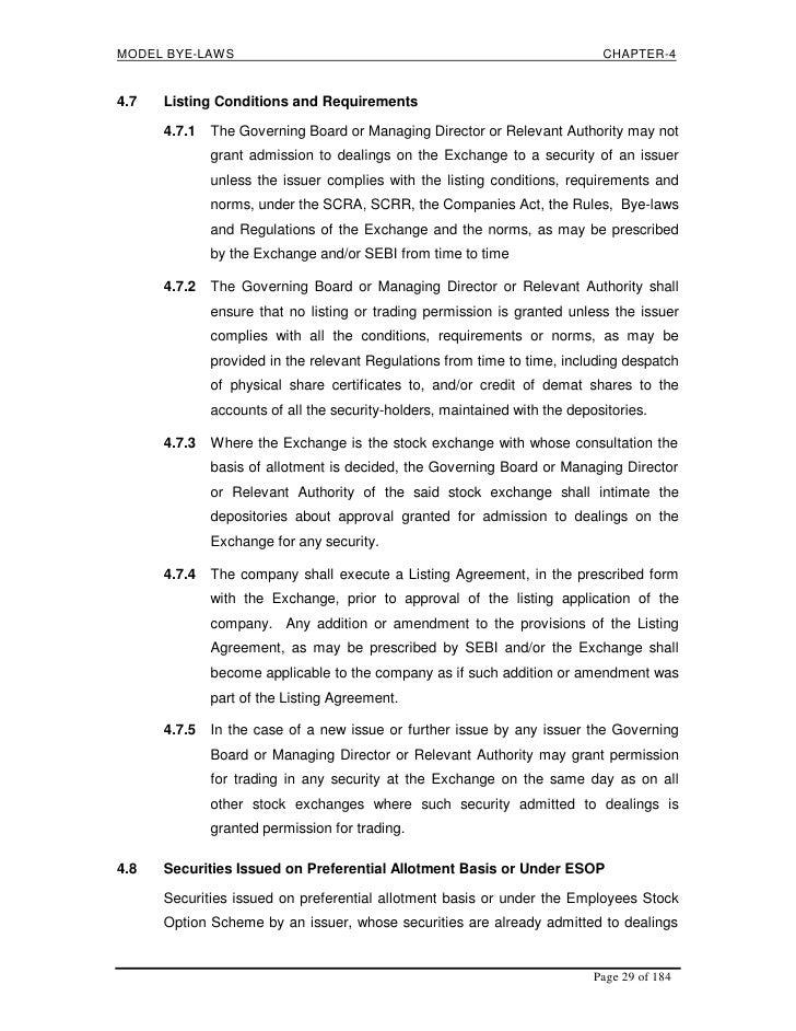 Sebis Guideline Towards Listing