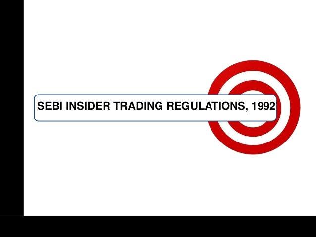 Sebi guidelines for option trading