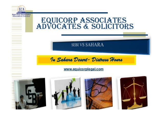 EquiCorp Associates Advocates & Solicitors  In Sahara Desert- Distress Hours www.equicorplegal.com