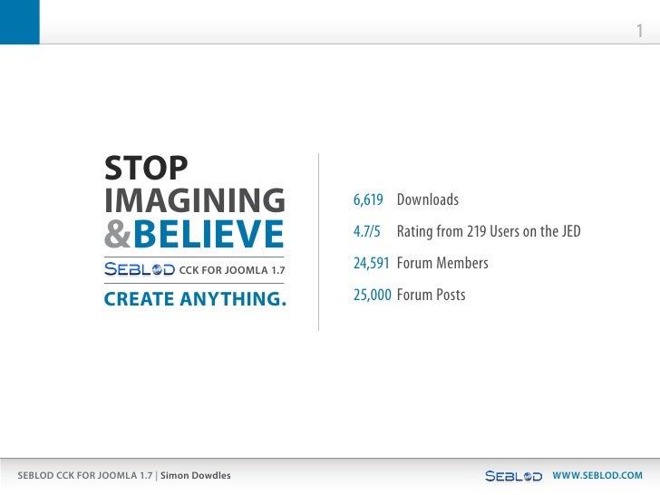 1                STOP                IMAGINING                           6,619 Downloads                &BELIEVE         ...