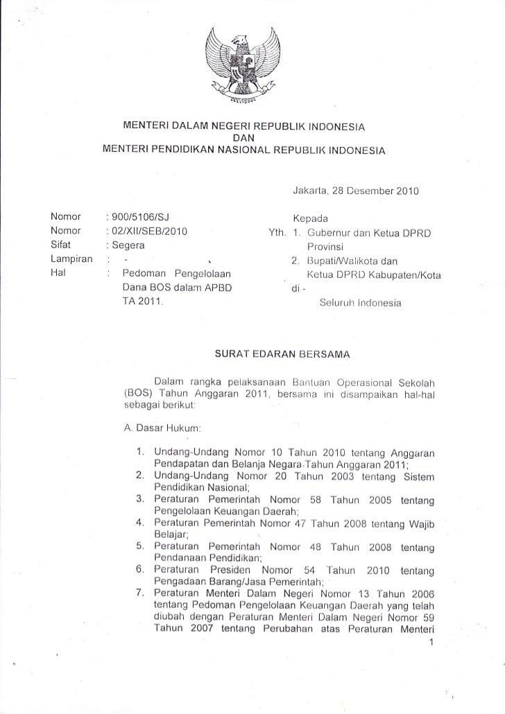 MENTERI DALAM NEGFRI REPUBLIK INDONESIA                                DAN           MENTERI PENDIDIKAN NASIONIAL REPUBLIK...