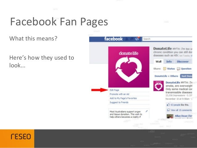 how to set up facebook like page