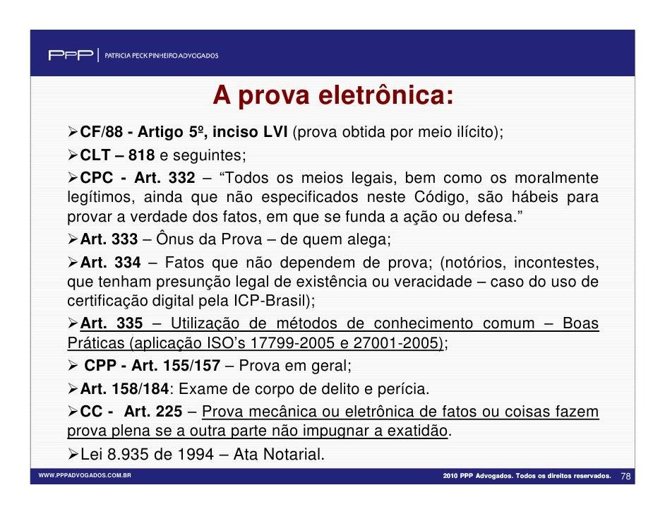 Artigo 332 cpc