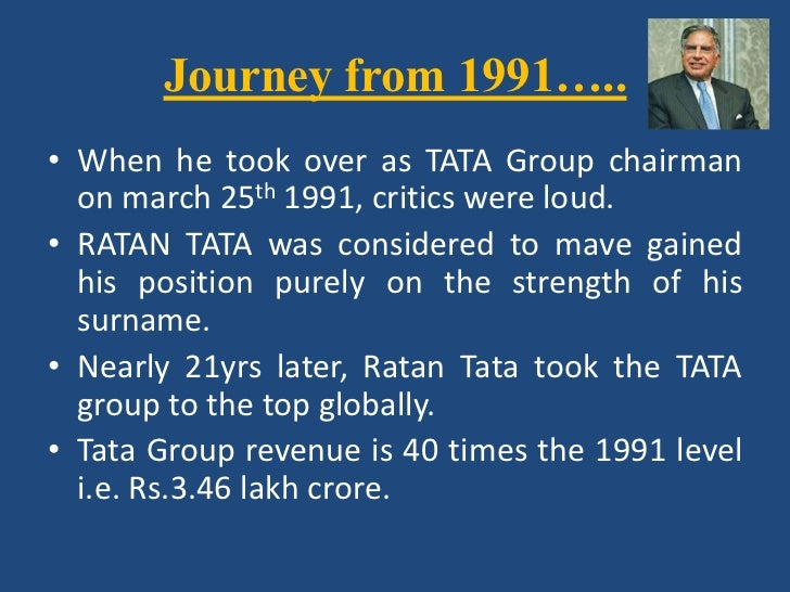 leadership qualities of ratan tata pdf