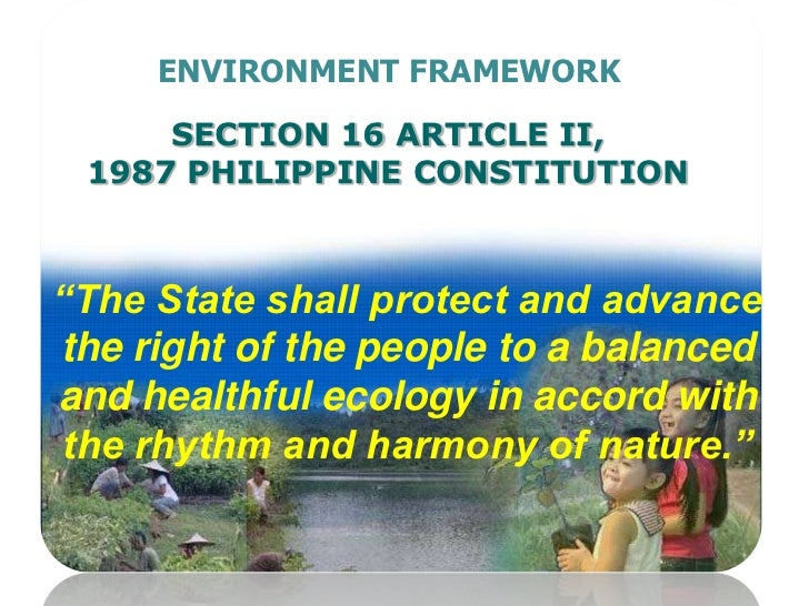 State Of The Philippine Environment