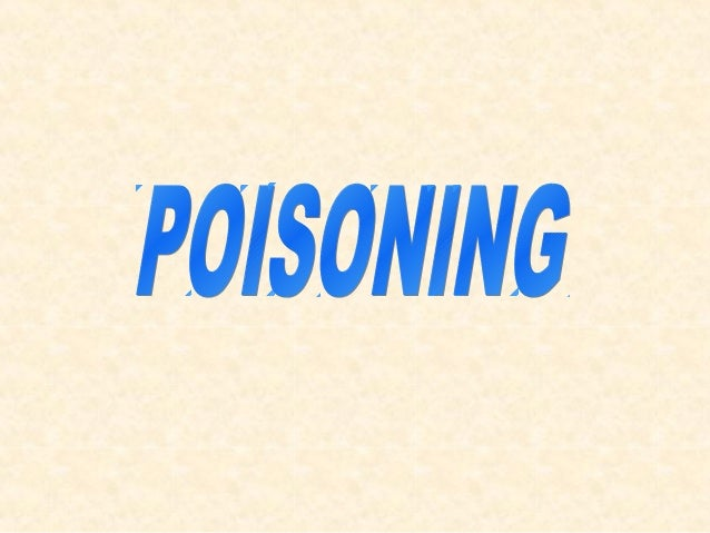 POISON A substance which, if taken into the body in sufficient quantity, may cause temporary or permanent damage.