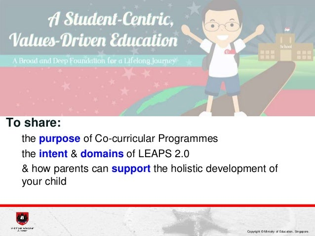 Purpose of education in singapore