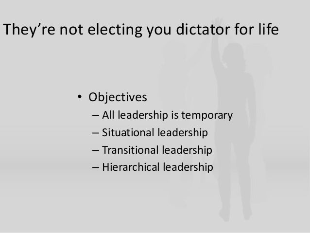 how to become a dictator for dummies