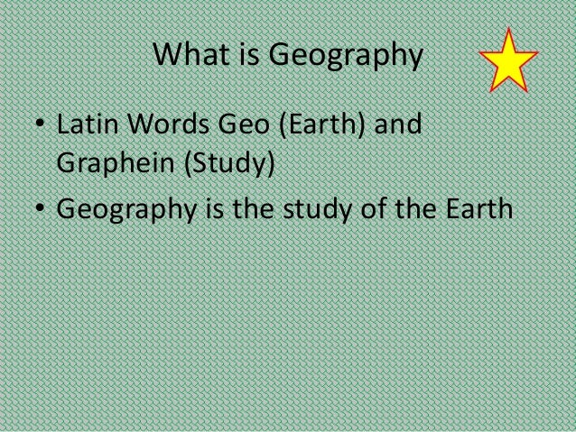 Write A Note On The Nature Of Human Geography