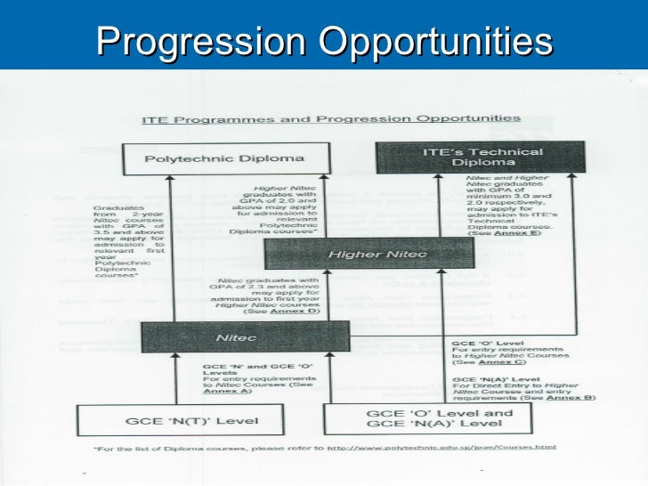 Progression Opportunities