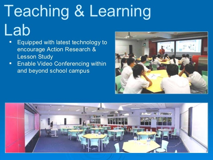 Teaching & Learning Lab <ul><li>Equipped with latest technology to encourage Action Research & Lesson Study </li></ul><ul>...