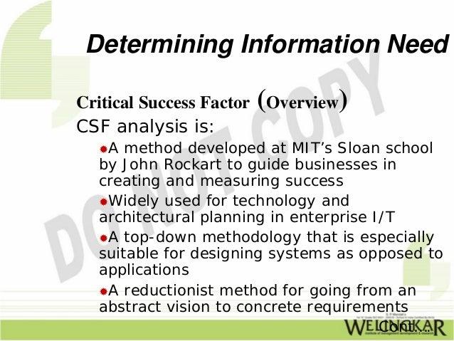 Determining Information Needs. Slide 2