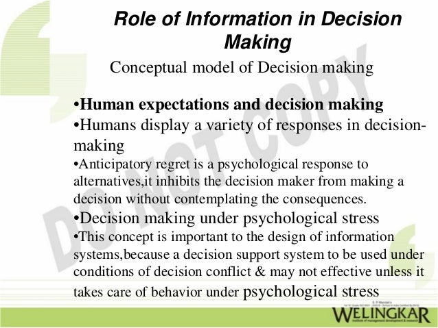 technology and decision making The two concepts seem independent to some people, but when you throw technology into the mix, you can see the close relationship problem solving and decision making have with one another .