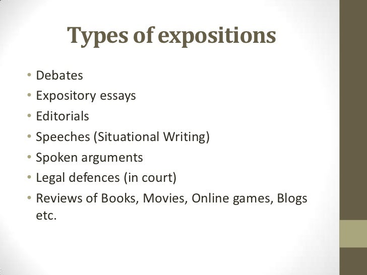 Sec3 english languagecompositionexpository essays – Expository Essays