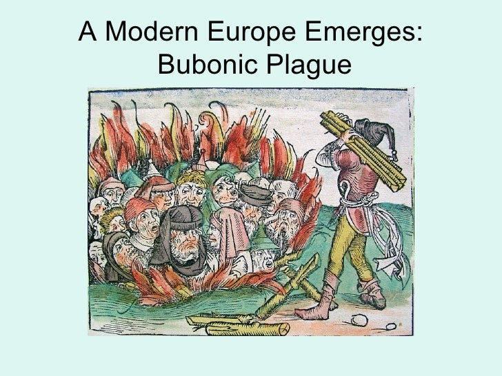an analysis of the effects of the bubonic plague in europe Free essay: the effect of crisis on religion in europe: how did black death and world war ii affect religious beliefs in europe, with a focus on the effects.