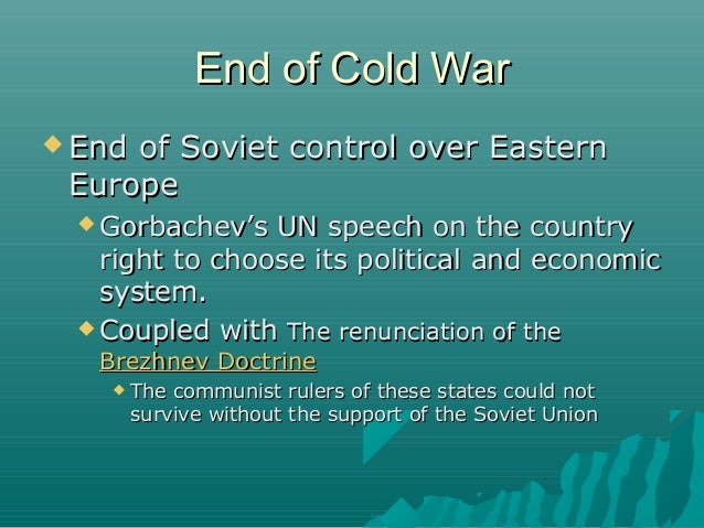 end of cold war - photo #17