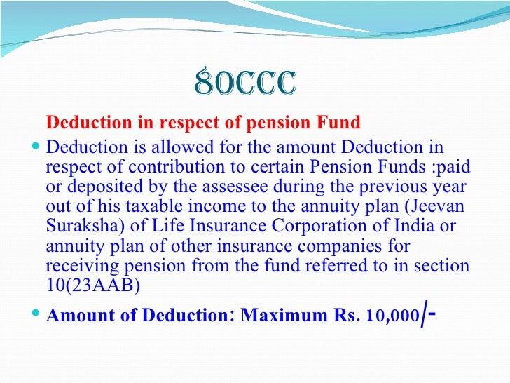 I Tax Sec 80