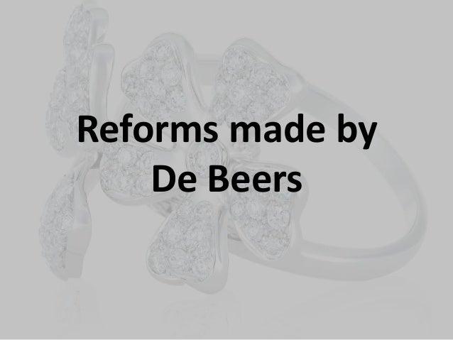 De beers diamond jewelersi essay