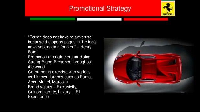 Ferrari Promotional