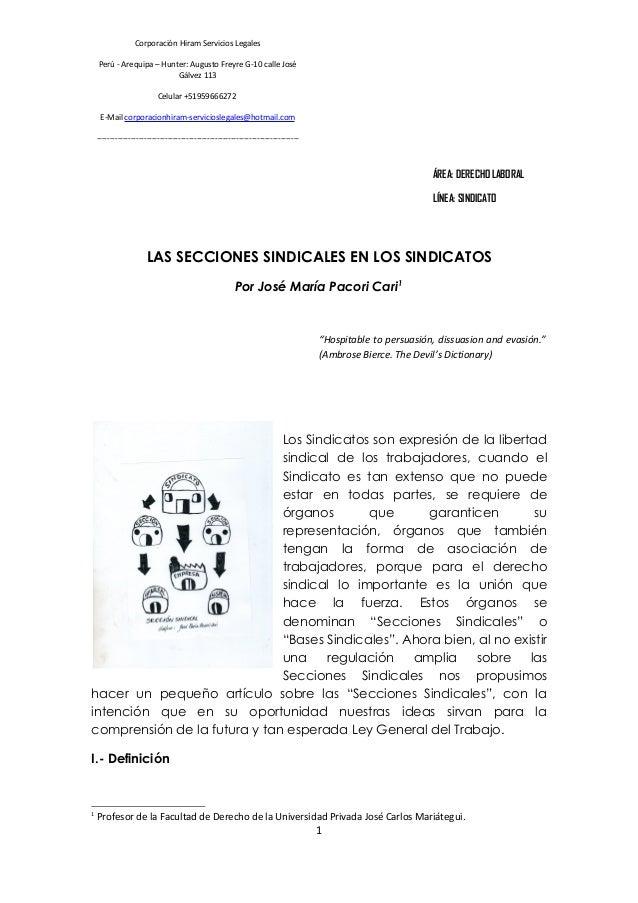 Corporación Hiram Servicios Legales Perú - Arequipa – Hunter: Augusto Freyre G-10 calle José Gálvez 113 Celular +519596662...