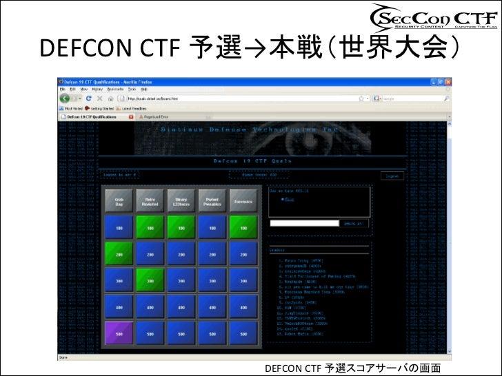 SECCON CTF セキュリティ競技会コンテスト開催について Slide 3