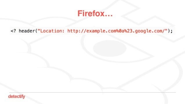 detectify Firefox…