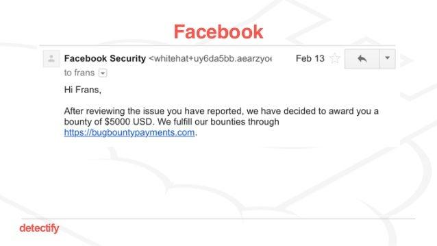 detectify Facebook