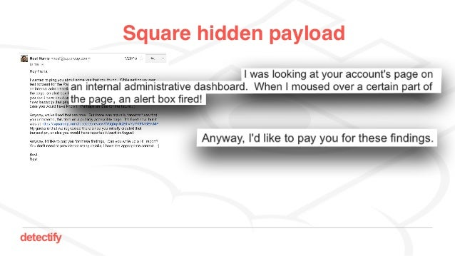 detectify Square hidden payload