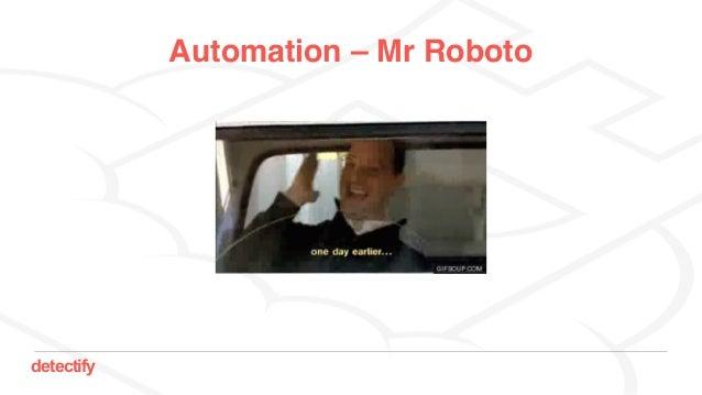 detectify Automation – Mr Roboto