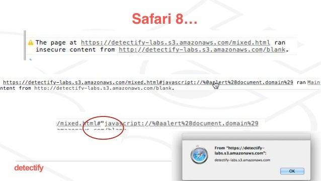 detectify Safari 8…