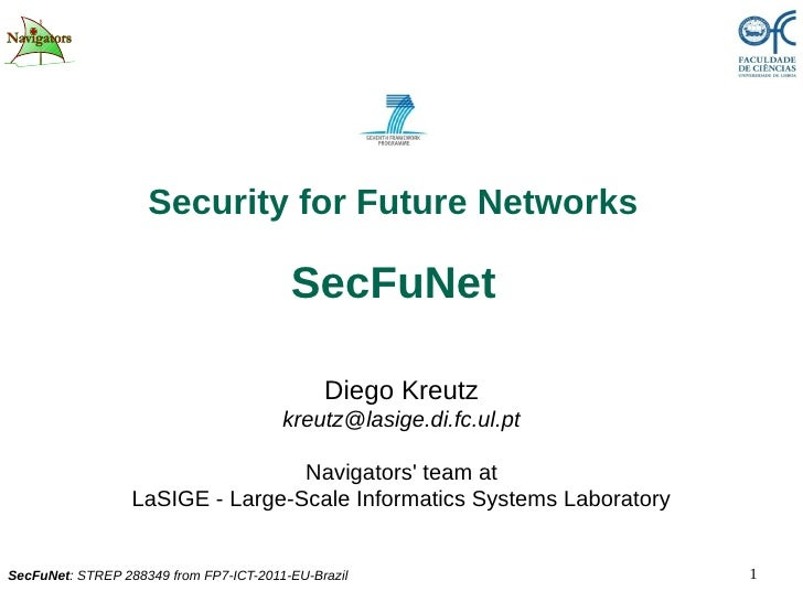 Security for Future Networks                                         SecFuNet                                             ...