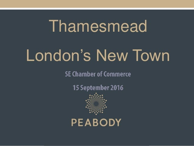 Thamesmead London's New Town