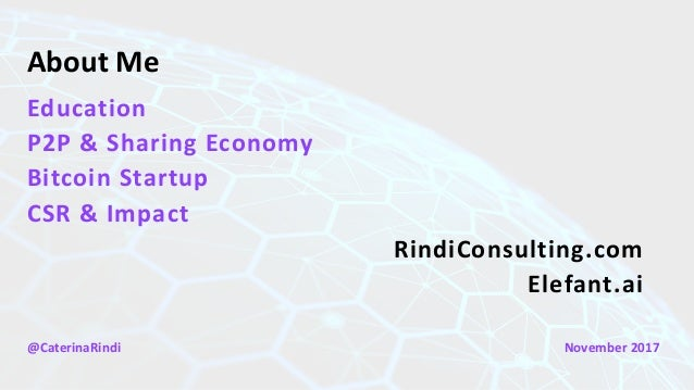 Rindi - Intro to the Bitcoin Blockchain and Sustainability Applications Slide 2