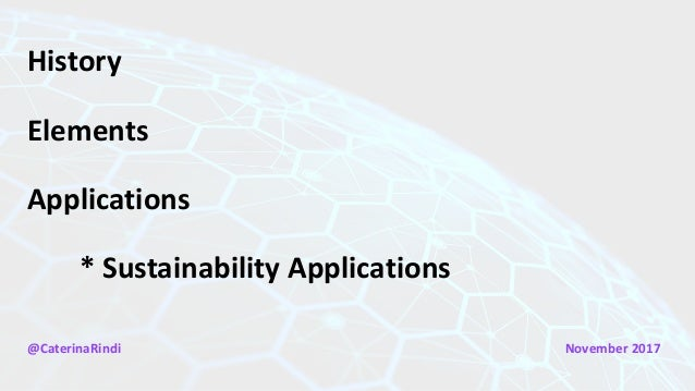 Rindi - Intro to the Bitcoin Blockchain and Sustainability Applications Slide 3