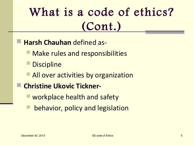 understanding the asmieee code of ethics
