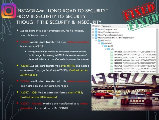 """INSTAGRAM: """"LONG ROAD TO SECURITY"""" FROM INSECURITY TO SECURITY THOUGHT THE SECURITY & INSECURITY  Media Data includes Adv..."""