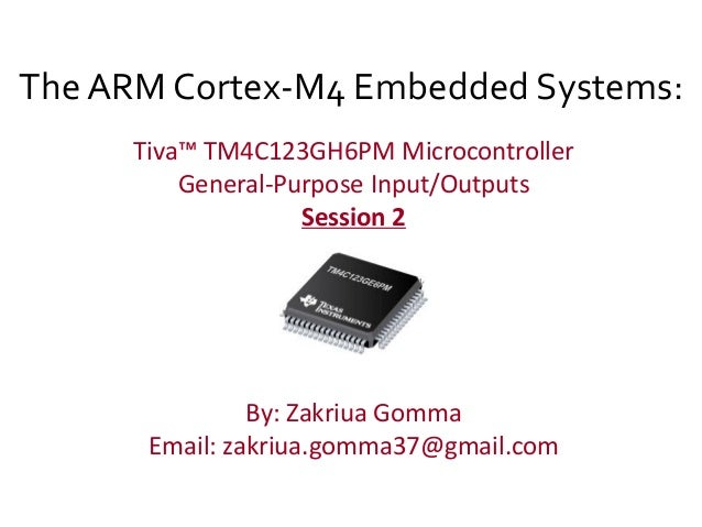 GPIO In Arm cortex-m4 tiva-c
