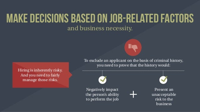 effective and ineffective elements of rejecting job applicant List specific reasons why some presidents are more effective with  but often contain elements of one or  the applicant must lawfully enter the .