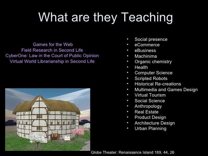 <ul><li>Games for the Web </li></ul><ul><li>Field Research in Second Life  </li></ul><ul><li>CyberOne: Law in the Court of...