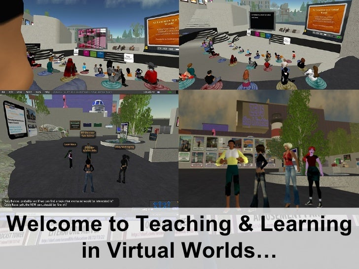 Welcome to Teaching & Learning in Virtual Worlds…