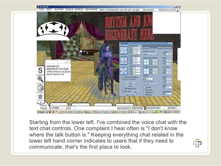 Second Life Ui Contest July 3 2008