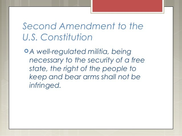 How much do you know about the Second Amendment? A quiz.
