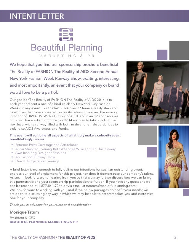 Second Annual The Reality of FASHION The Reality of AIDS 2014 Sponsor…