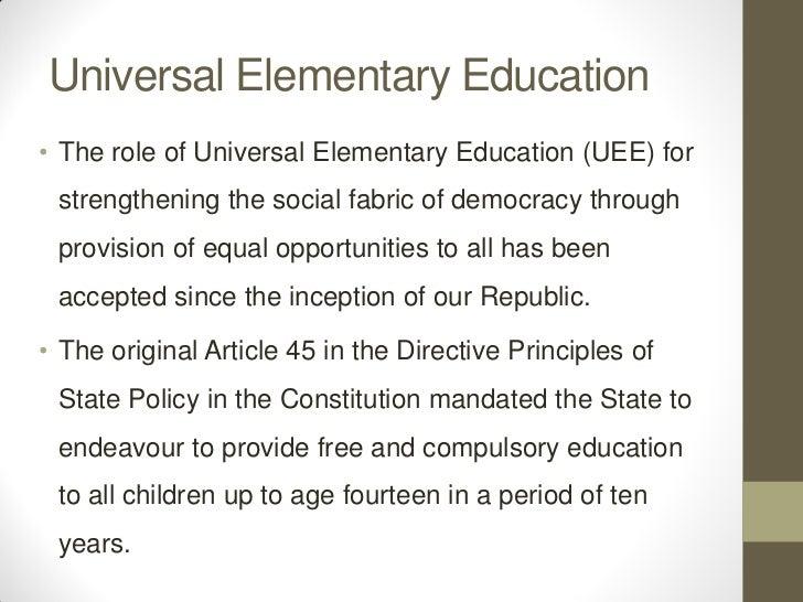 origin of universal secondary education in uganda