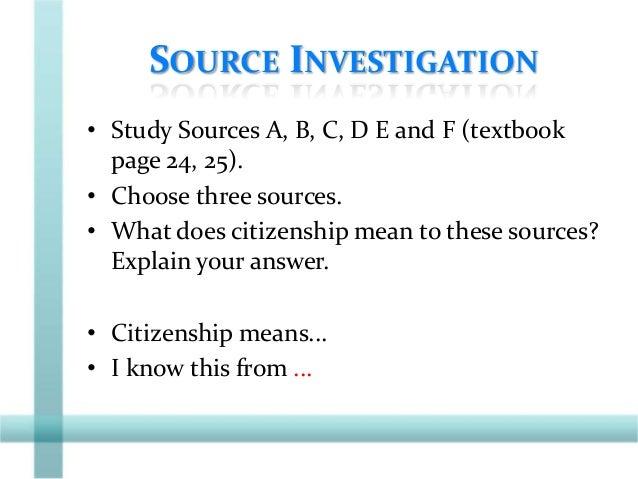 Secondary 3 Social Studies