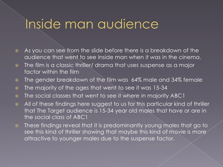 Secondary audience research Slide 3