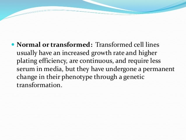  There are certain advantages in propagation of cells by suspension culture method.  These advantages are: (a) The proce...