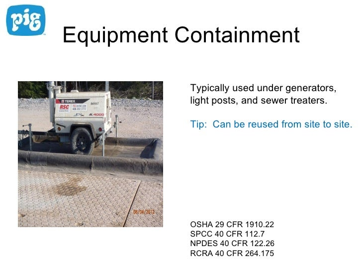 Secondary Containment For Oil Amp Gas Well Pads