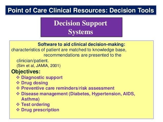 Secondary Evidence Based Medicine Rsources Sc